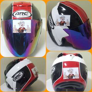 0803***ARC AR1 TIARA Red Helmet For Sale 😁😁Thanks To All My Buyer Support 🐇🐇 Yamaha, Honda, Suzuki