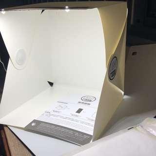 [Sales] Brand New Portable Mini Photo Studio Box With Built In LED Light Photography Box Kit