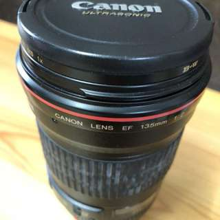 Canon 135mm f2 L series