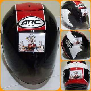 0803***ARC AR1 TIARA v TINTED VISOR Helmet For Sale 😁😁Thanks To All My Buyer Support 🐇🐇 Yamaha, Honda, Suzuki
