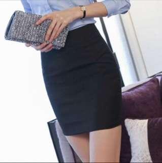 [PREORDER] item #10: similar black office skirt // five sizes