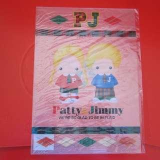 Sanrio Patty&Jimmy A4Size 膠FILE 1998年