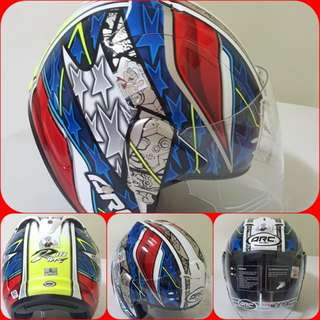 0803***ARC AR4 SPECIAL EDITION Helmet For Sale 😁😁Thanks To All My Buyer Support 🐇🐇 Yamaha, Honda, Suzuki