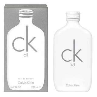 Calvin Klein CK All EDT for Unisex Men Women (100ml/200ml/Tester) White