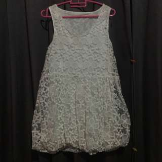 MINI DRESS (White)