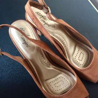 SALE‼️ Repriced Payless- Deflex Comfort Brown Suede