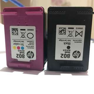 Tinta printer Hp (warna & hitam)