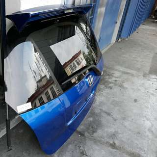 Honda Jazz/Fit Mugen spoiler/back bonnet