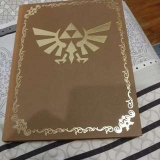 The legend of zelda twilight princess nintendo collector's edition guide book with cloth map gamecube switch wii u