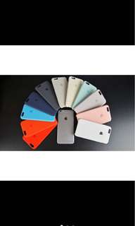 Silicon case 100% original (all iphone models)