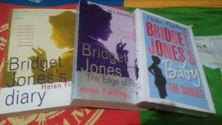 Bridget jone's Diary book 1, 2 , 3
