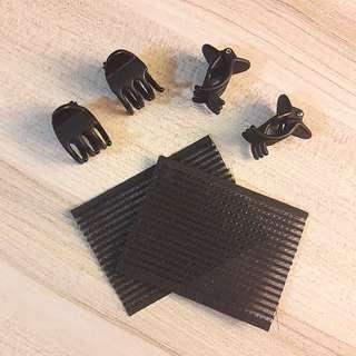 Hair Clips + Velcro