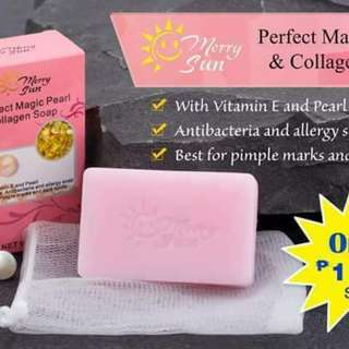 Perfect Pearl and Collagen Soap