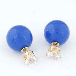 Anting Tusuk Stud Earrings Dior Crown