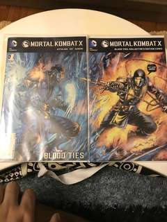DC Mortal Kombat X #1 Connecting Variant