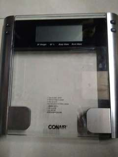 Conair digital weighing scale
