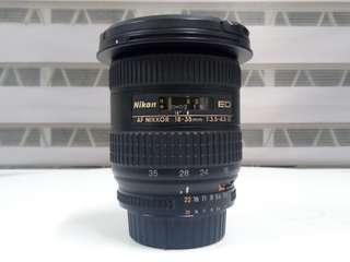 Nikon 18-35mm F3.5-4.5 D ED IF (FX/DX)