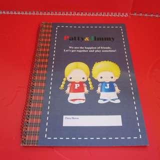 Sanrio Patty&Jimmy 筆記簿 1998年