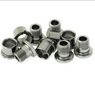 Chain ring bolts - Aluminum Alloy