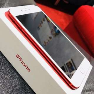 Iphone 7 Plus Limited Edition Series ( RED) 256 gb