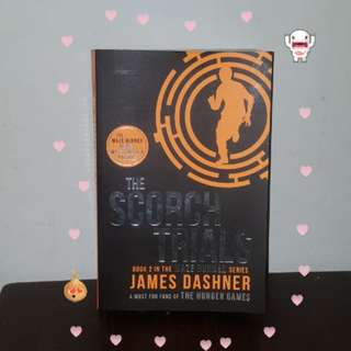 🍦The scorch trails ( maze runner book 2 )🍦