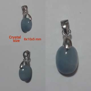 Very Nice. Cute size Aquamarine pendant.