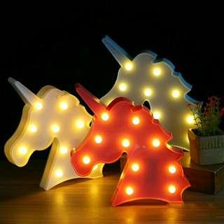 lampu tumblr unicorn flamiggo kaktus