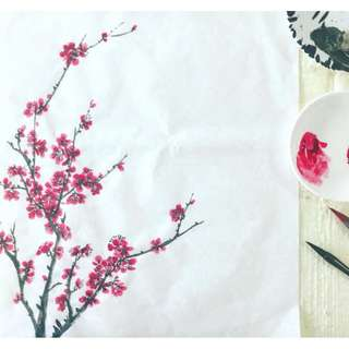 Plum Blossom Chinese Painting Workshop