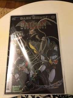 DC Dark Nights Metal Batman Who Laughs #1 1st Print