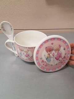 Precious Moments Porcelain Soup Mug