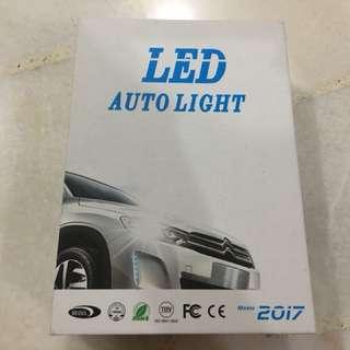 BNIB H11 LED bulbs set 3-way 3000k 4300k 6000k 8000k 10000k 12000k h1 h3 h4 h7 d2c d2s 5050