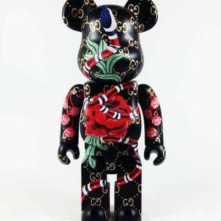 Bearbrick Custom Gucci 1000% & 400%