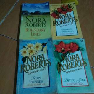 Novel harlequin Nora Roberts