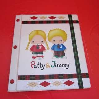 Sanrio Patty&Jimmy 3R 相簿 1998年