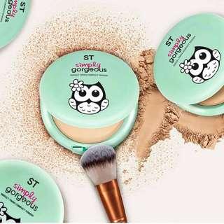 Perfect finish compact powder