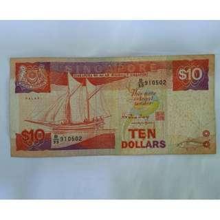 TEN DOLLARS SINGAPORE