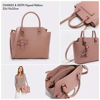 NEW!!! CHARLES AND KEITH SLING BAG TAS IMPORT WANITA