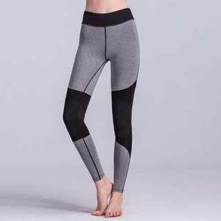 拼接透氣修身瑜伽運動褲/Stitching yoga sweatpants