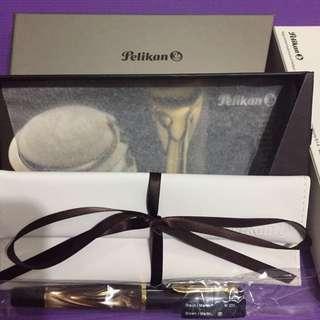 Pelikan Classic M200 Brown Marble Fountain Pen
