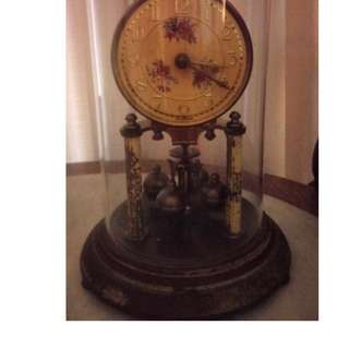 Antique German 400 day anniversary clock