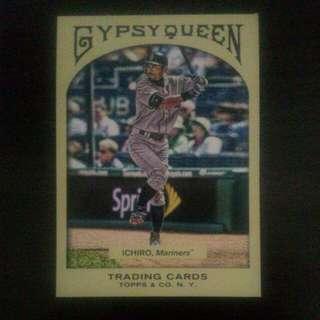 BASEBALL CARD ICHIRO SUZUKI (MLB 2011)