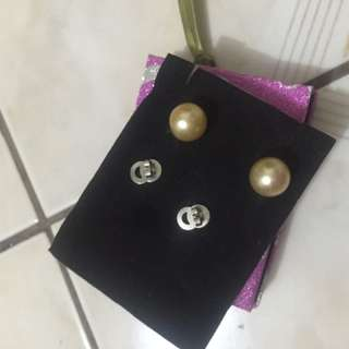 Southsea pearl pair of earrings