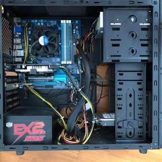 Custom PC - MOBO + i5 CPU + Casing + PSU + IO plate + WIFI card