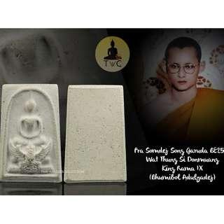 Pra Somdej Song Garuda  BE2518 (1968) Wat Thung Si Donmuang King Rama IX