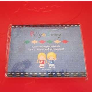 Sanrio Patty&Jimmy MEMO紙 1998年 (無拆包裝)