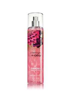 Bath & Body Works Body Mist Diamond Shimmer Mist