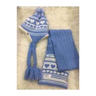 Winter Hat & Scarf Winter Time