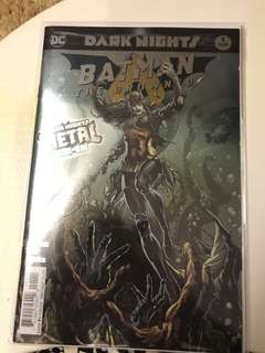 DC Dark Nights Metal Batman The Drowned #1 Foil Stamp Cover