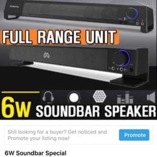 Soundbar 6w