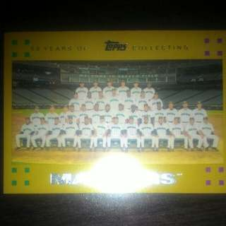 BASEBALL CARD SEATTLE MARINERS (MLB 2006)